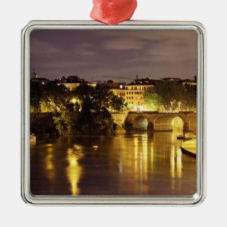 Bridge Over The Tiber River Christmas Tree Ornaments