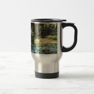 Bridge Over the Waterlily Pond by Claude Monet 15 Oz Stainless Steel Travel Mug