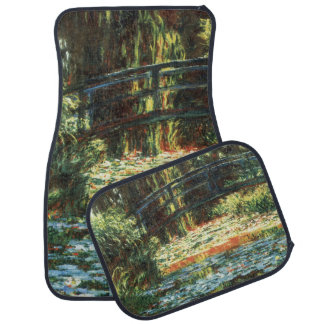 Bridge Over the Waterlily Pond by Claude Monet Car Mat