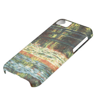Bridge Over the Waterlily Pond by Claude Monet iPhone 5C Cover