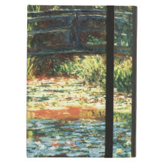 Bridge Over the Waterlily Pond by Claude Monet iPad Air Cover