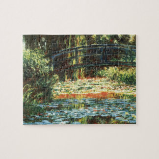 Bridge Over the Waterlily Pond by Claude Monet Jigsaw Puzzle