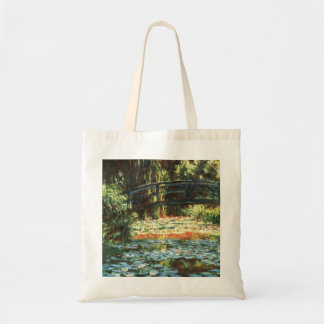 Bridge Over the Waterlily Pond by Claude Monet Tote Bag
