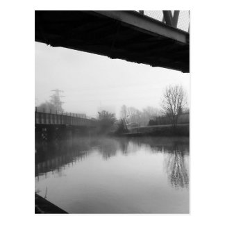 Bridge over troubled water postcard