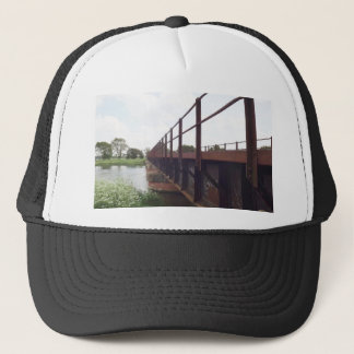 Bridge over trucker hat