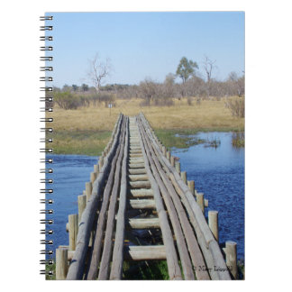 Bridge over Water Journal Spiral Notebook