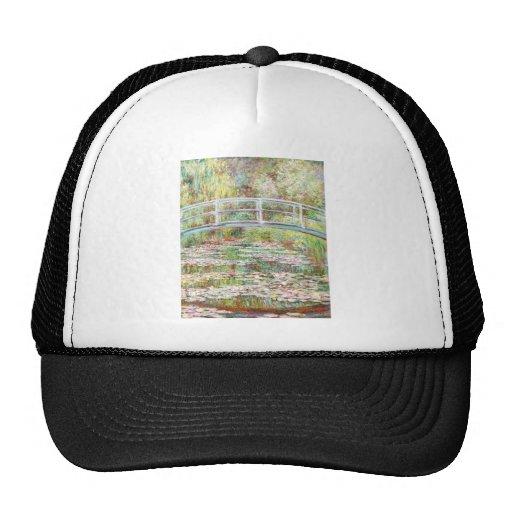 Bridge Over Water Lilies Pond - Claude Monet Trucker Hat