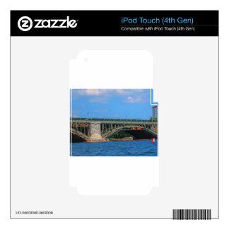 Bridge photo Boston America USA iPod Touch 4G Decals