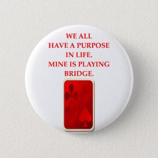 BRIDGE PINBACK BUTTON