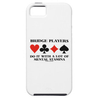 Bridge Players Do It With A Lot Of Mental Stamina iPhone SE/5/5s Case