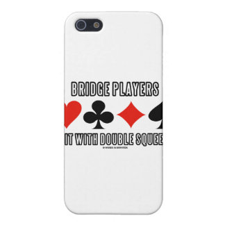 Bridge Players Do It With Double Squeezes Cover For iPhone SE/5/5s
