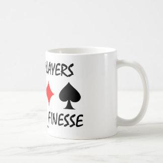 Bridge Players Do It With Finesse (Bridge Humor) Mug