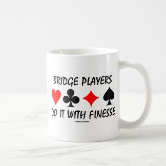 Bridge Players Do It With Finesse (Bridge Humor) Coffee Mug