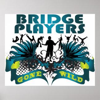 Bridge Players Gone Wild Poster