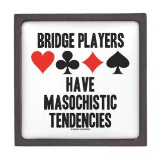 Bridge Players Have Masochistic Tendencies Jewelry Box