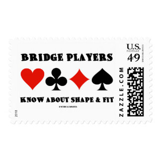 Bridge Players Know About Shape & Fit (Card Suits) Postage