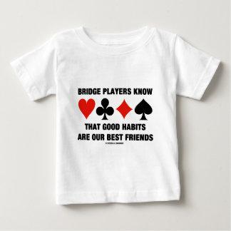 Bridge Players Know Good Habits Best Friends Shirt