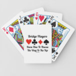 Bridge Players Know How To Finesse The Way To Top Bicycle Playing Cards