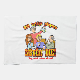 Bridge Players Towel