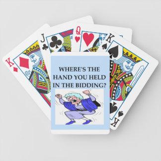 bridge playing cards