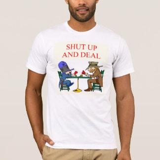 bridge poker card player game design T-Shirt