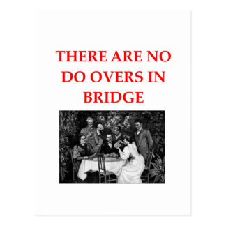 BRIDGE POST CARDS