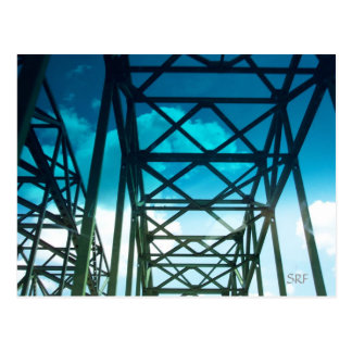 Bridge Postcard by SRF