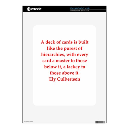 bridge quote iPad decals
