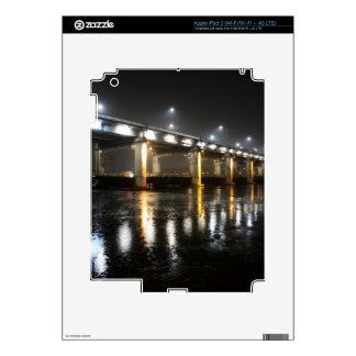 Bridge, Rain, Seoul Skins For iPad 3