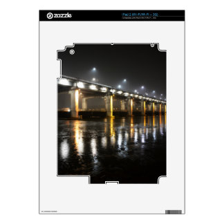 Bridge, Rain, Seoul iPad 2 Skin