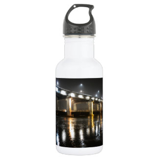 Bridge, Rain, Seoul Stainless Steel Water Bottle