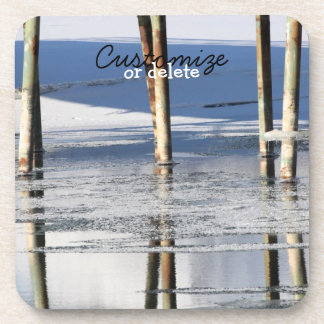 Bridge Reflection; Customizable Coaster