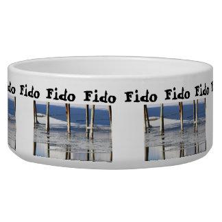 Bridge Reflection; Customizable Pet Bowl