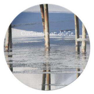 Bridge Reflection; Customizable Plate
