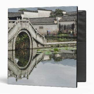 Bridge reflection, Hong Cun Village, Yi 3 Ring Binder