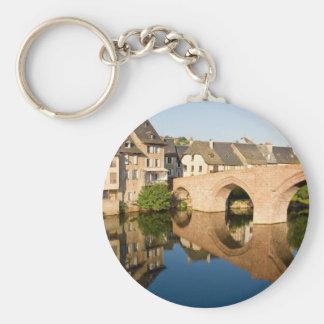 Bridge Reflection Keychain