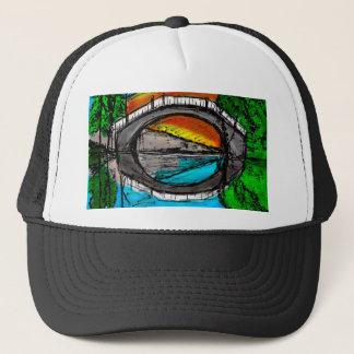 Bridge Reflection Marker #2 Colored Trucker Hat