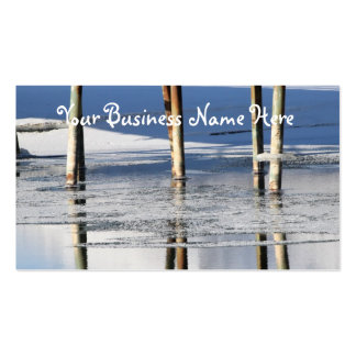 Bridge Reflection; Promotional Business Card