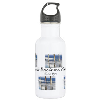 Bridge Reflection; Promotional Water Bottle