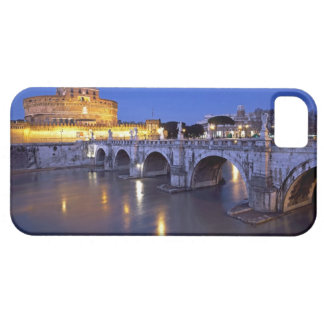 Bridge Sant Angelo and Castel Sant Angelo at iPhone 5 Cover