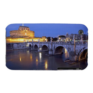Bridge Sant Angelo and Castel Sant Angelo at Case-Mate iPhone 3 Case