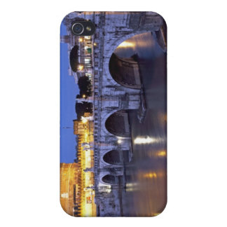 Bridge Sant Angelo and Castel Sant Angelo at iPhone 4/4S Case