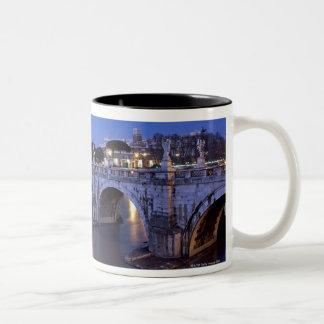 Bridge Sant Angelo and Castel Sant Angelo at Mugs