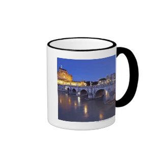 Bridge Sant Angelo and Castel Sant Angelo at Ringer Coffee Mug