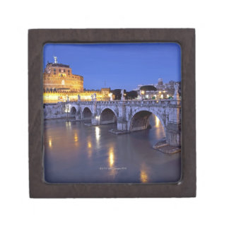 Bridge Sant Angelo and Castel Sant Angelo at Premium Jewelry Box