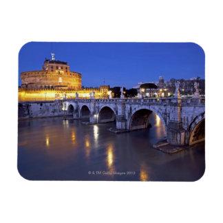 Bridge Sant Angelo and Castel Sant Angelo at Magnet
