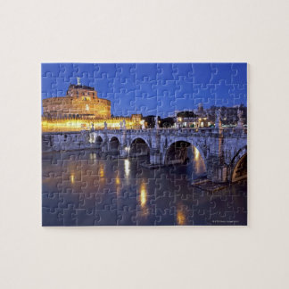 Bridge Sant Angelo and Castel Sant Angelo at Puzzles