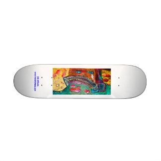 Bridge Scene Ashesha's Fairytale Skateboard