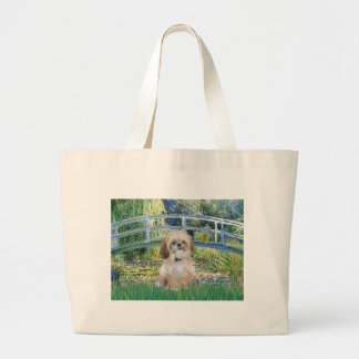 Bridge - Shih Tzu (P) Large Tote Bag