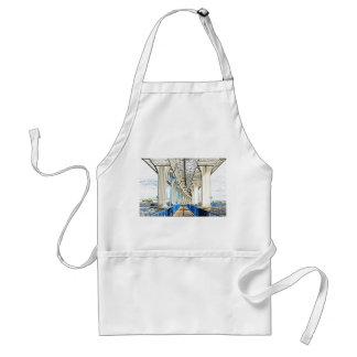 bridge sketch jensen beach. apron
